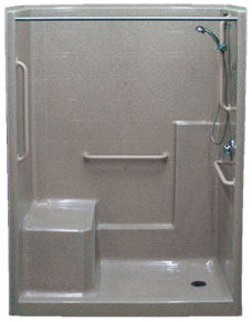 Comfort Designs - Bathroom handicap bar height