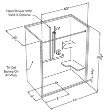 Image Result For Showers For Small Bathrooms