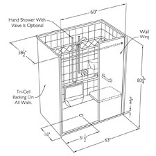 The Alternate Configuration Allows Design Options View Roll In Type Showers Additional Facts About Transfer